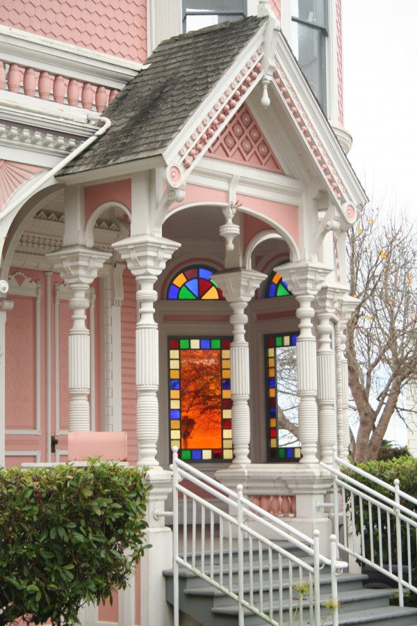 Pink Lady Mansion, Eureka, California