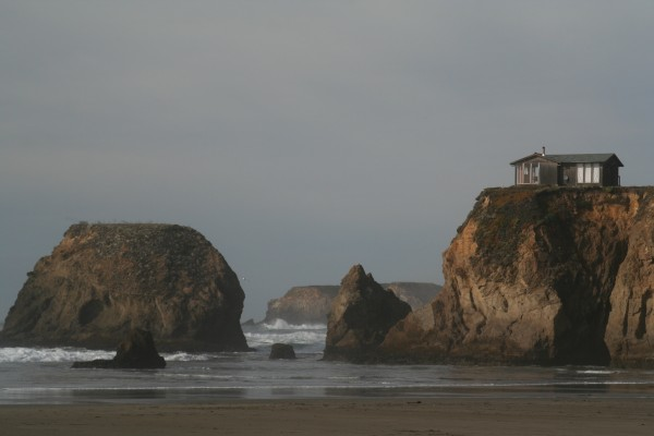 Mendocino Beach Home
