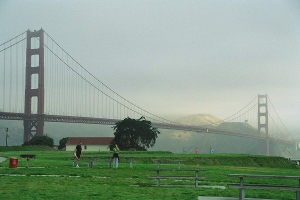 The Presidio Below The Golden Gate