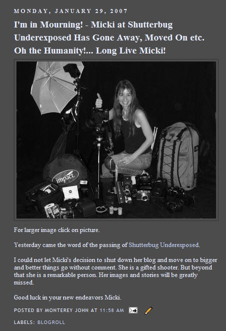 Shutterbug Exposed comes to an end
