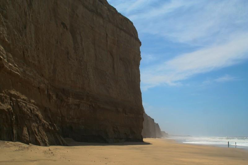 Pompino Beach on the Pescadero coast, California