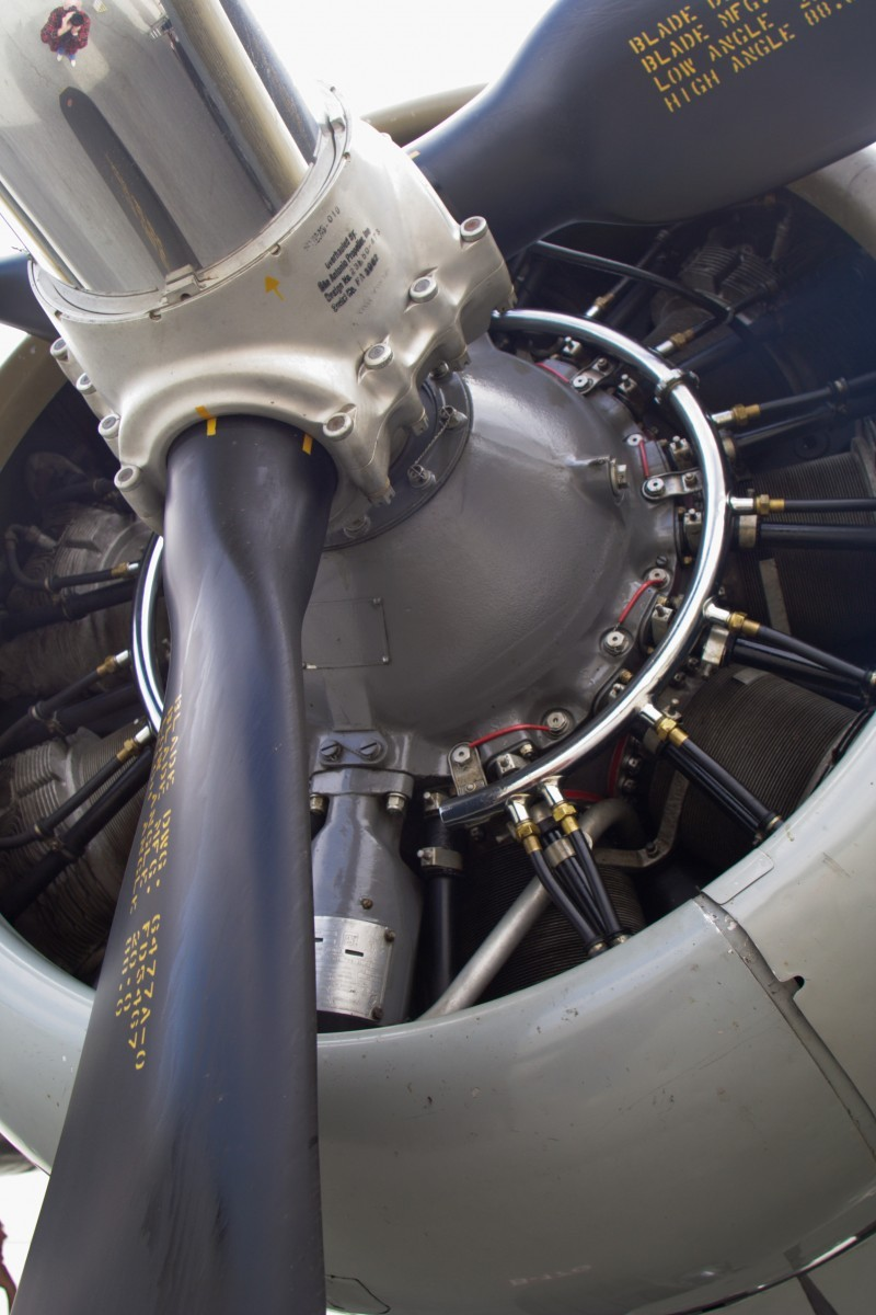 Radial Engine on WWII B-17