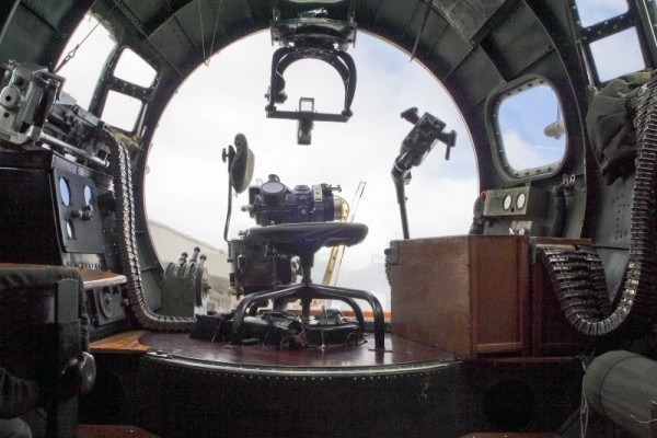 Bombardier's Position on a B17