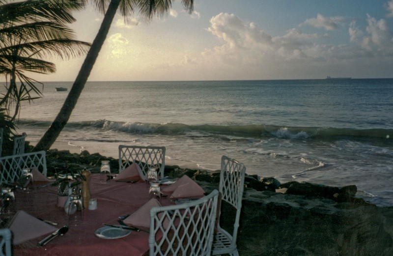 Dusk on St Lucia