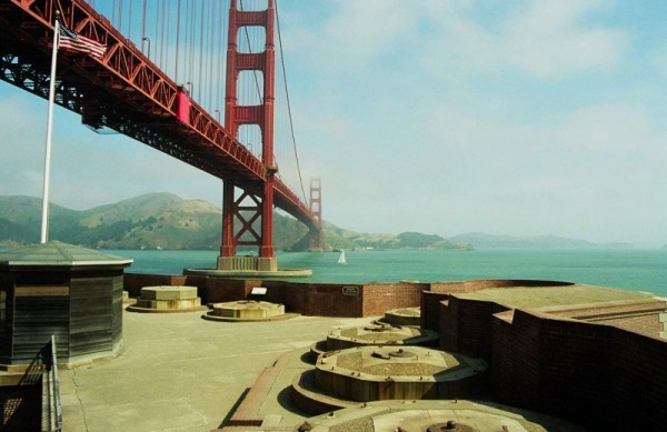 Old Glory Flied Over Ft Point, Golden Gate