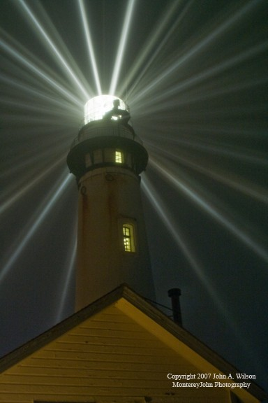 Relighting of Pigeon Point Lighthouse