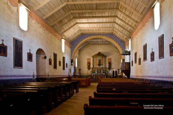 Sanctuary San Antonio Mission, California