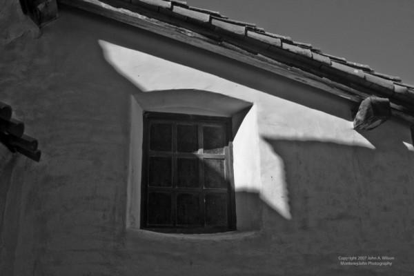 Window at Mission San Antonio, California
