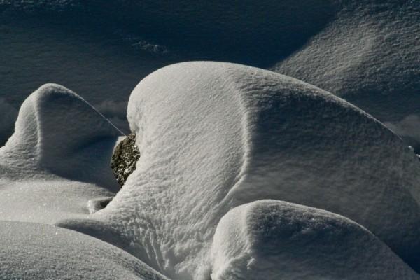 Snow Drift in The High Sierra