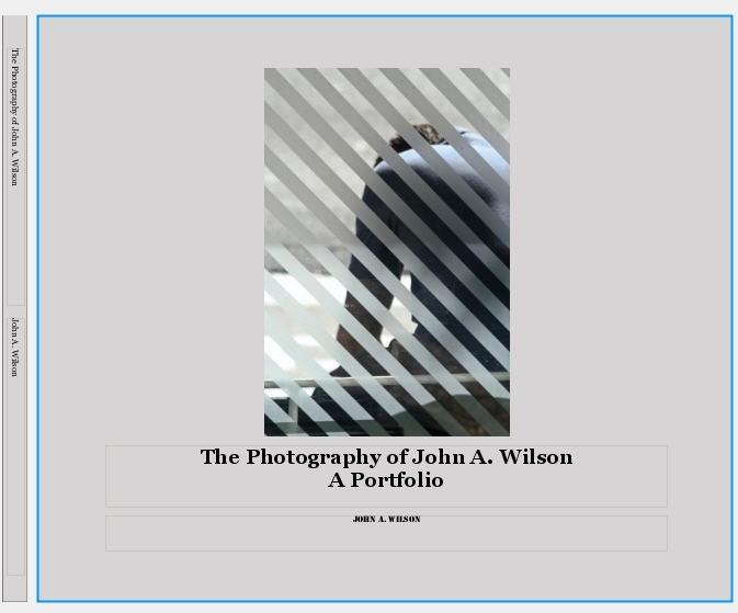 Cover for Portfolio