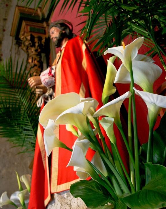Carmel Mission at Easter