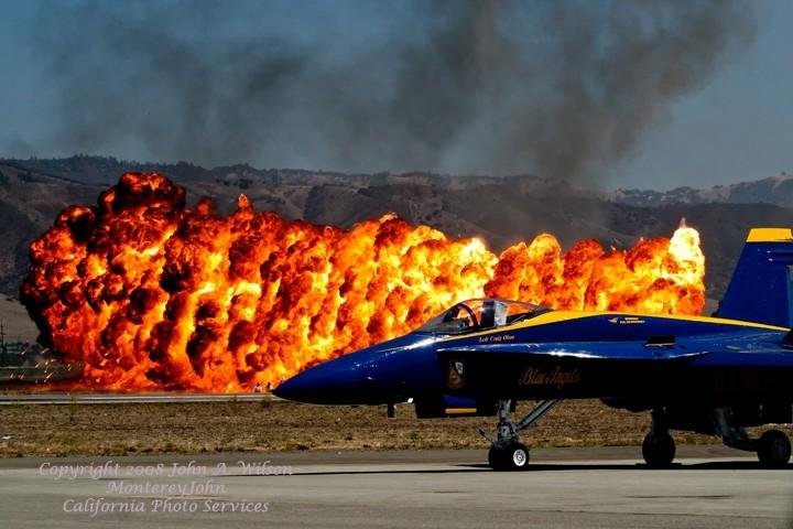 Blue Angels at Salinas California