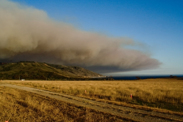 big-sur basin-fire