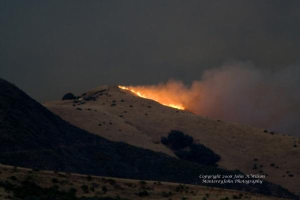 Big-Sur Basin-Fire
