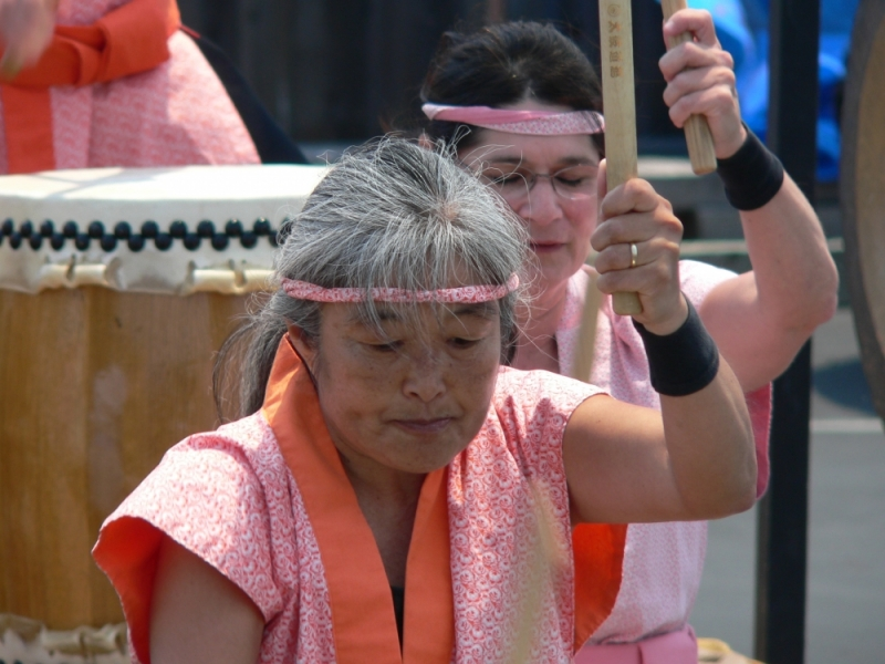 Drummers at Monterey Obon Festival