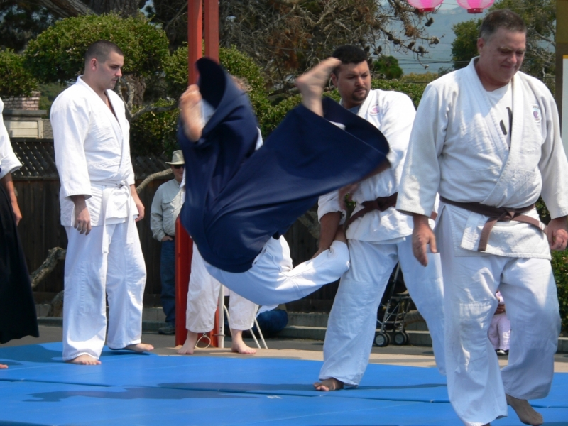 Aikido Demonstration - Monterey Obon Festival