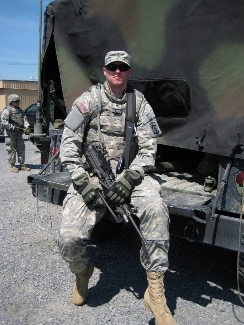 Nephew Shawn Prepares for Deployment to Iraq