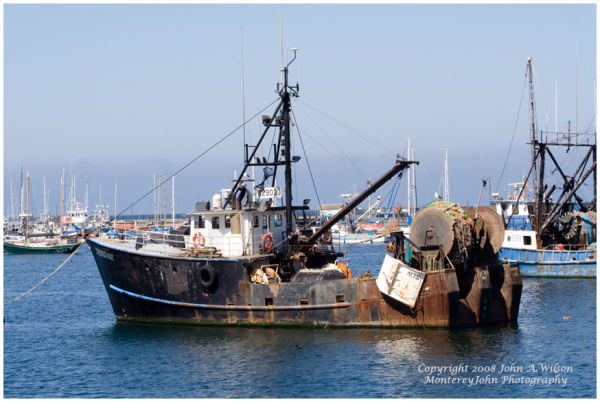 Monterey, CA - Fishing Boat