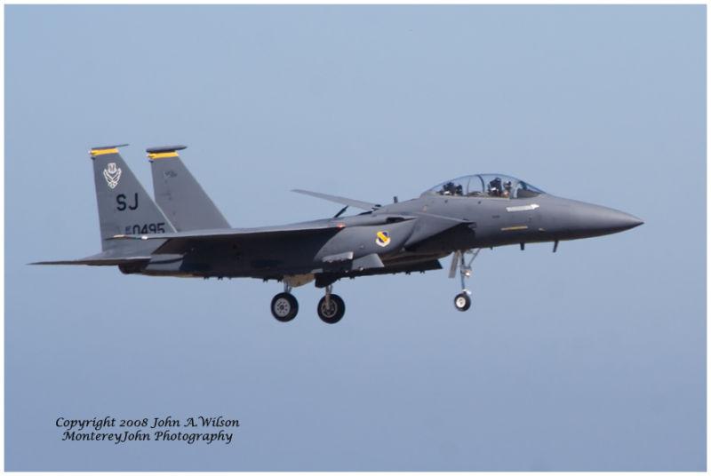 California International Airshow, Salinas, CA  F15