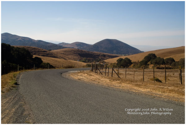 Salinas Valley, Ca - San Juan Grade