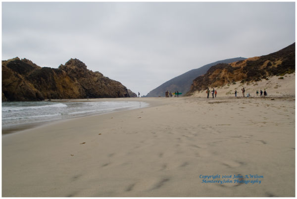 Pfeiffer State Beach, Big Sur, California