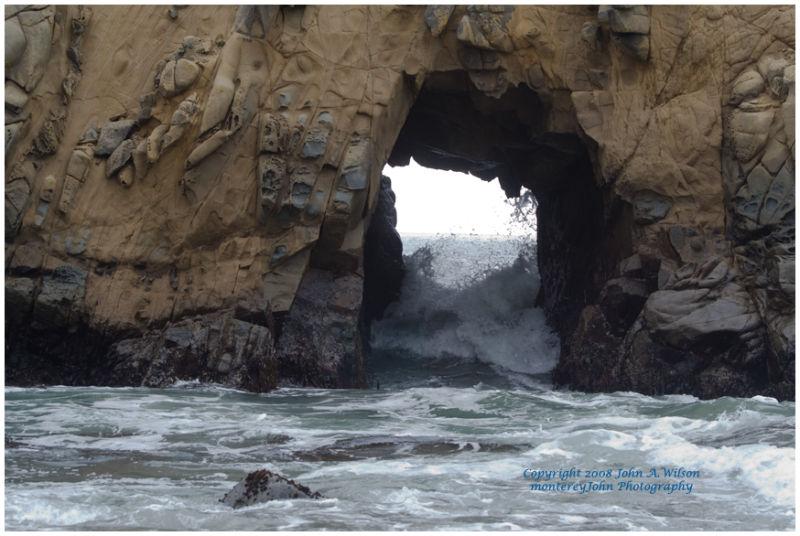 Pfeiffer State Beach, Big Sur, California