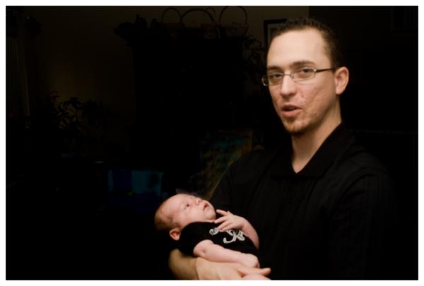 Grandson Logan Michael Wilson