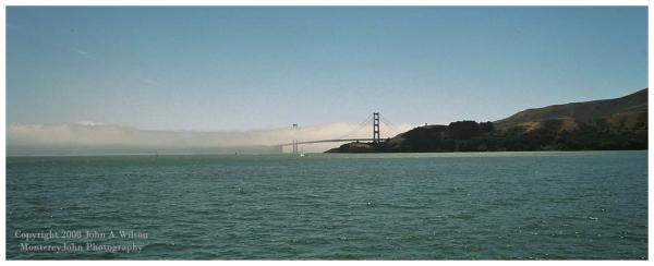 Golden Gate San Francisco afternoon fog