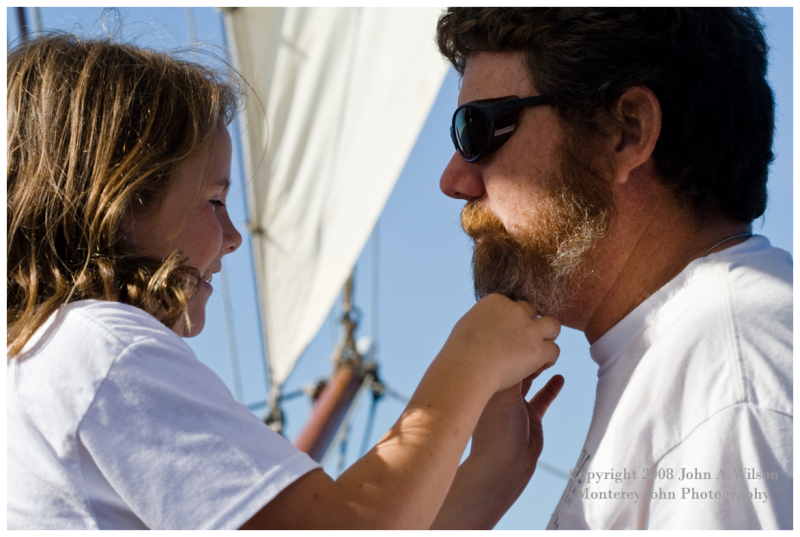 Hawaiian Chieftain - Father and Daughter