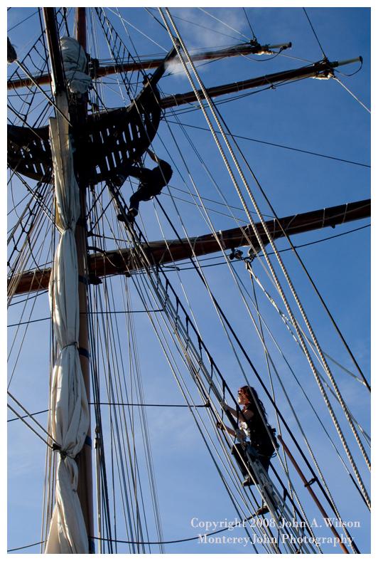 Hawaiian Chieftain - Getting Ready to Set Sail