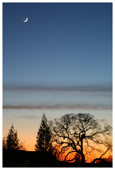 Twilight in Sierra Foothills