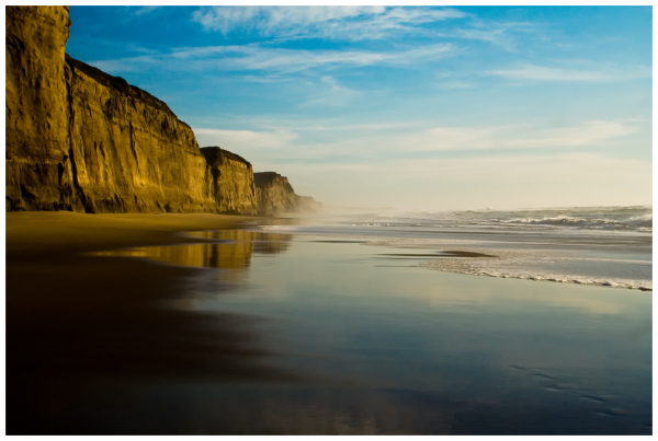 Winter Afternoon at Pomponio Beach
