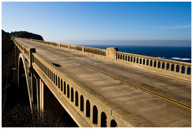 Rocky Creek Bridge at Big Sur