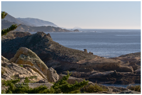 Point Sur as seen from Point Lobos
