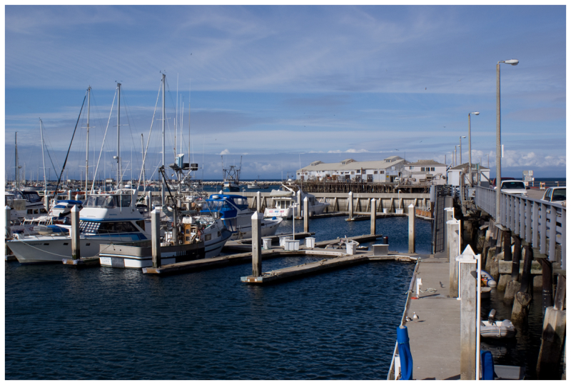Monterey Commercial Fishing Pier