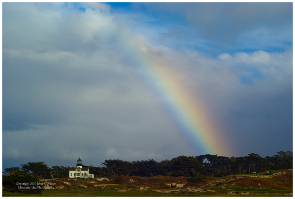 Ptoint Pinos, Pacific Grove, Ca Rainbow