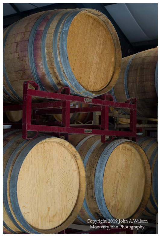 Marilyn Remark winery, Salinas Valley, CA