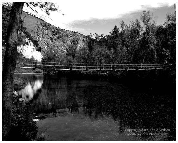 Arroyo Seco Foot Bridge Monterey County CA