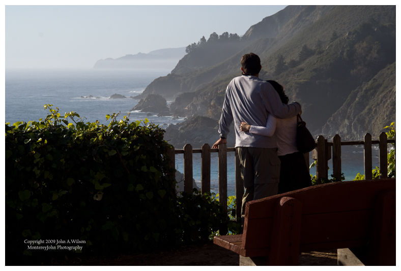 Lovers at Big Sur