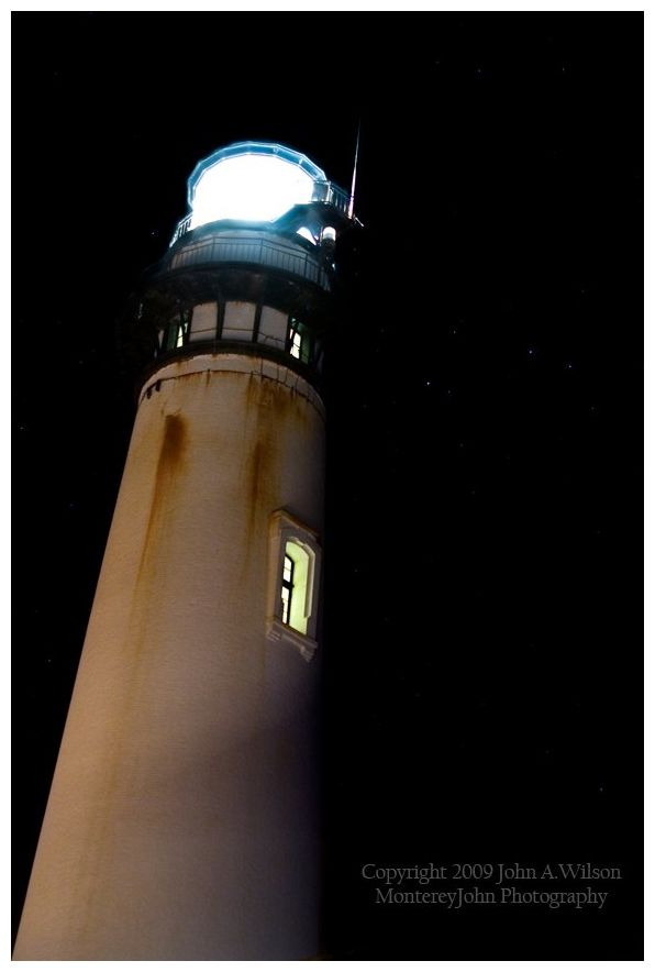 Pigeon Point Lighthouse Relighting