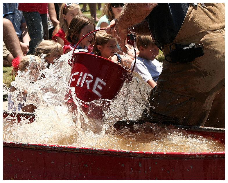 Firemen's muster Spreckels. California 4th of July