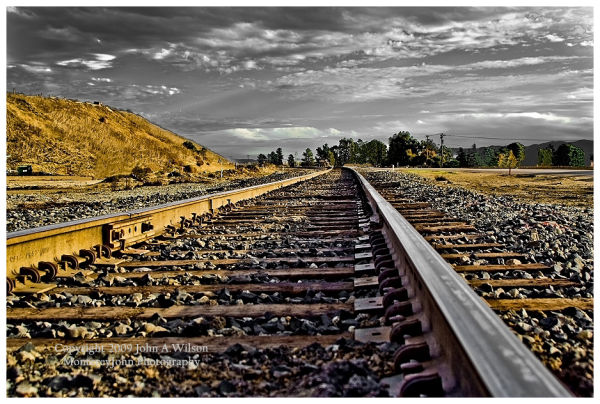 Union Pacific Track at King City, CA