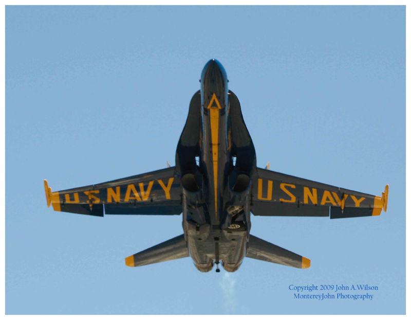 Blue Angel F-18 at Salinas CA Airshow