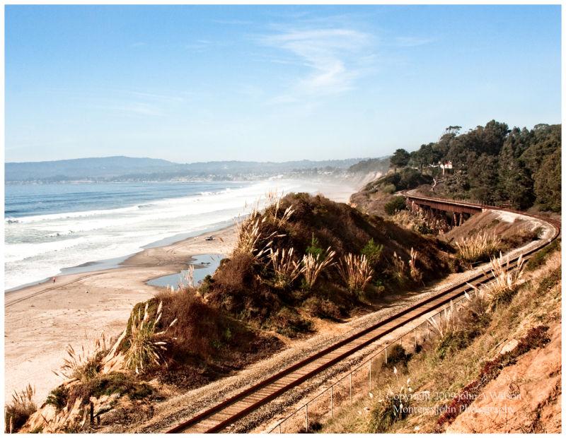 Old Railroad above La Selva Beach