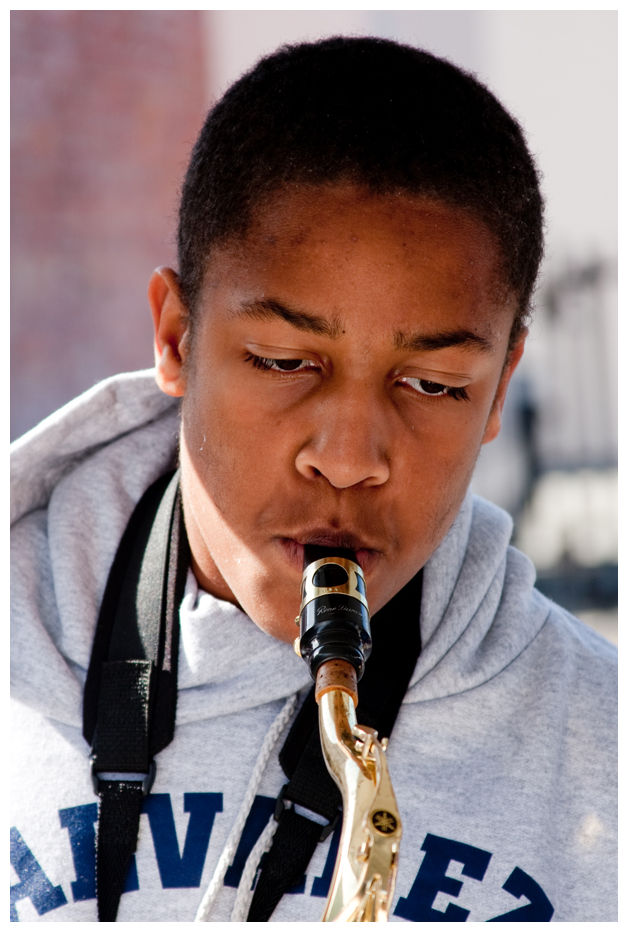 Young Saxophonist