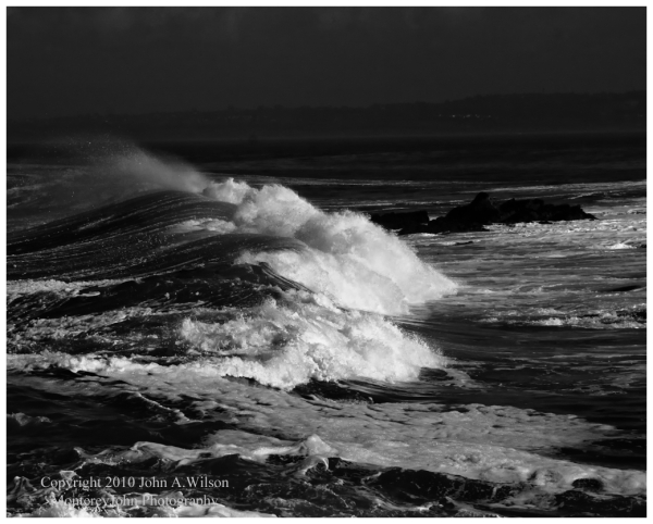 Pt Pinos, Pacific Grove, CA surf