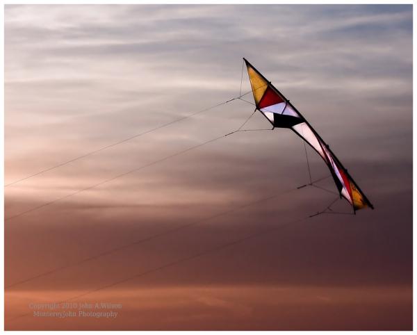 Monterey Bay Kite flying