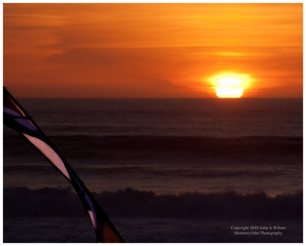 Kite over Monterey Bay