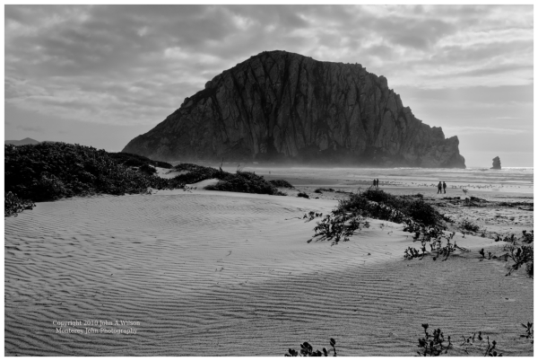 morro Rock and Dunes