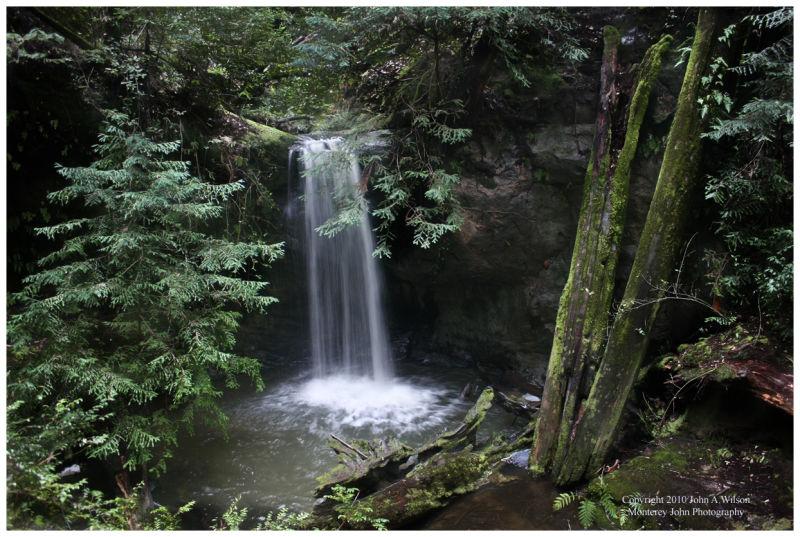 Semprervirens Falls, big Basin State Park